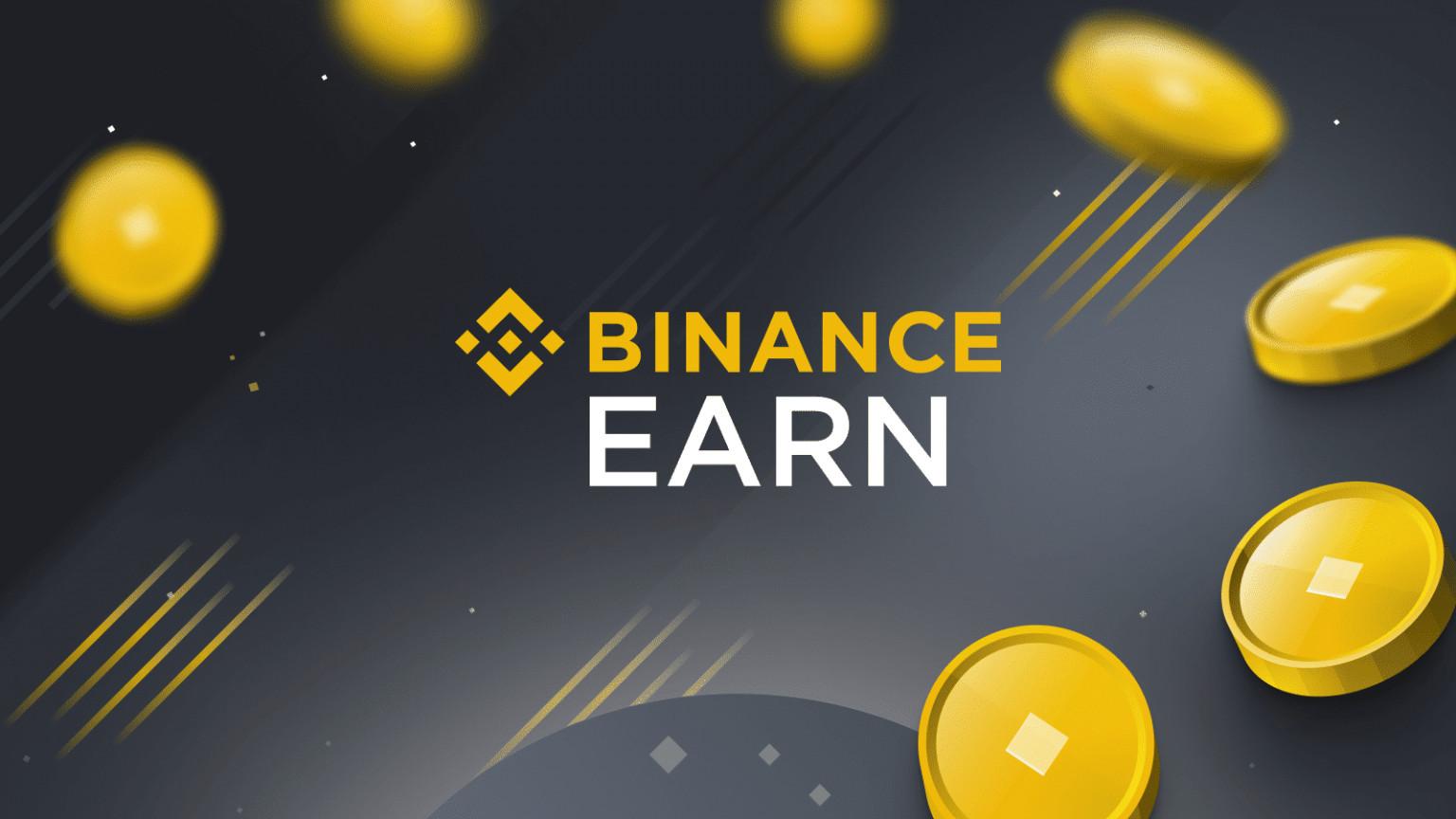 Lending crypto on Binance with Binance Earn
