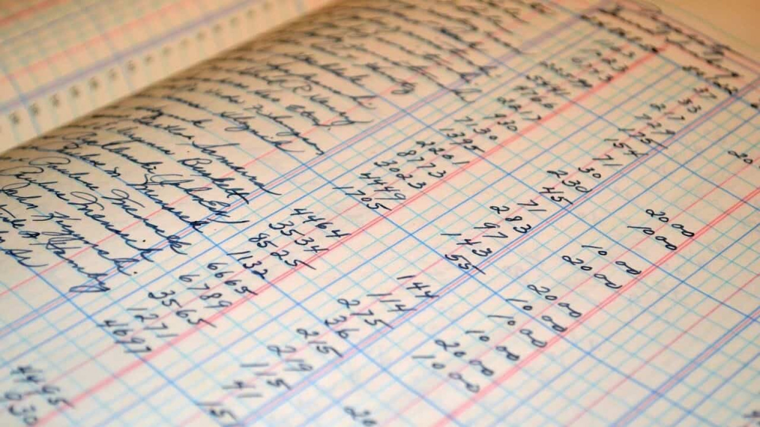 Image of a balance sheet lending book