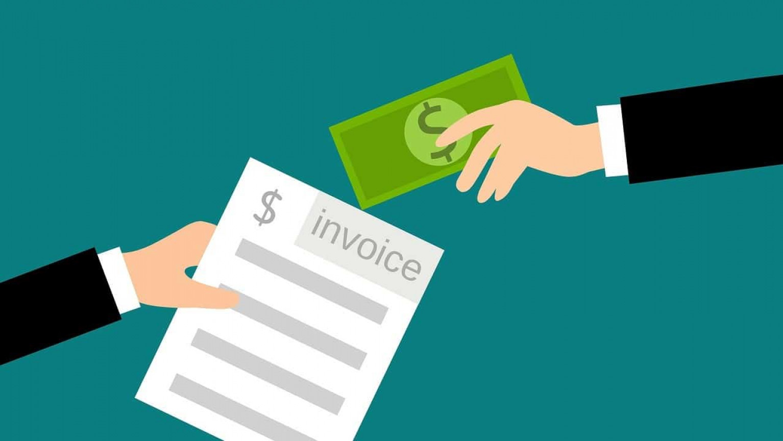 Trading an invoice