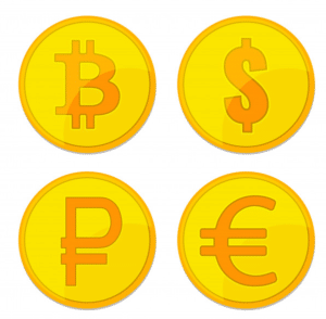 Image of crypto currency for crypto lending