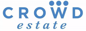 Logo of the real estate investment site Crowdestate
