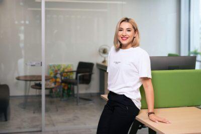 Picture of Viktorija Vanagė as CEO of Profitus